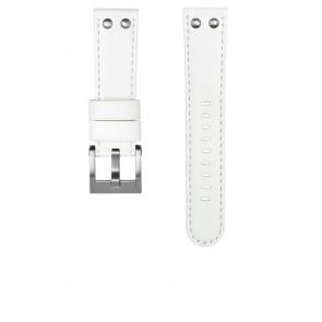 Pasek do zegarka TW Steel CEB108 Skórzany Biały 22mm