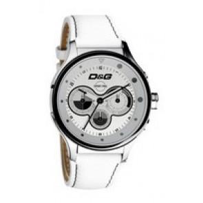 Pasek do zegarka Dolce & Gabbana DW0212 (F357000728) Skórzany Biały
