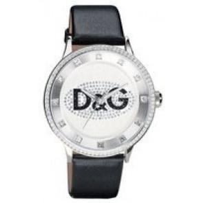 Pasek do zegarka Dolce & Gabbana DW0507 Skórzany Czarny
