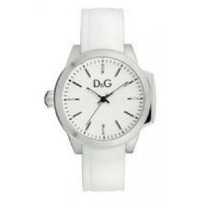 Pasek do zegarka Dolce & Gabbana DW0746 Gumowy Biały 18mm