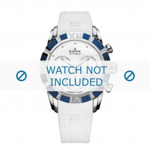 Edox horlogeband 10405-357B-NAIN Silicoon Wit 18mm