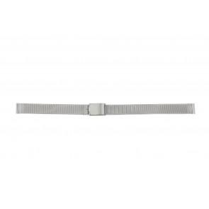 Other brand horlogeband E-ST-ZIL-12 Staal Zilver 12mm