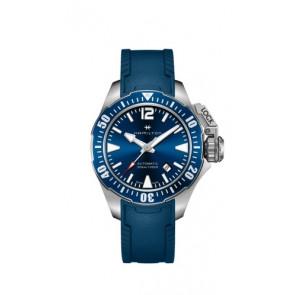Horlogeband Hamilton H77705345 Rubber Blauw 20mm