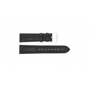 Pasek do zegarka Uniwersalny 305L.01.12 XL Skórzany Czarny 12mm