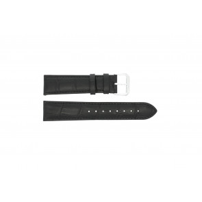 Pasek do zegarka Condor 305L.01.12 XL Skórzany Czarny 12mm