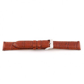 Pasek do zegarka Uniwersalny C335 Skórzany Koniak 12mm