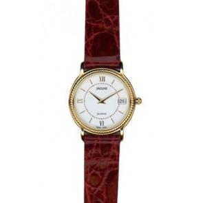 Pasek do zegarka Jaguar J601-1 / J601-7 Skórzany Bordeaux 14mm