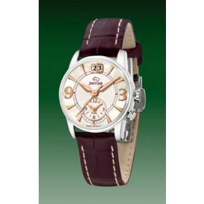 Pasek do zegarka Jaguar J624-4 Skórzany Brązowy 17mm