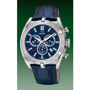 Pasek do zegarka Jaguar J857-2 Skórzany Niebieski