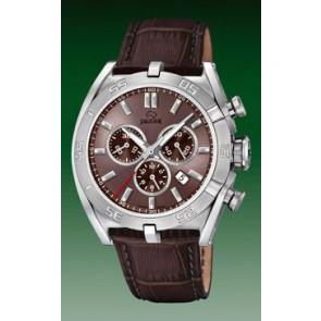 Pasek do zegarka Jaguar J857-6 Skórzany Brązowy