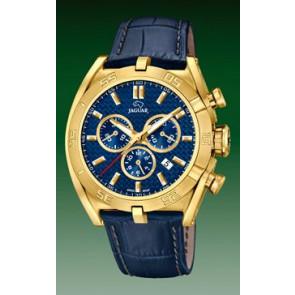 Pasek do zegarka Jaguar J858-2 Skórzany Niebieski