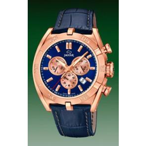 Pasek do zegarka Jaguar J859-2 Skórzany Niebieski
