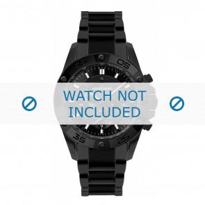 Jacques Lemans horlogeband 1-1773D Keramiek Zwart