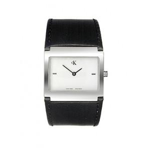 Pasek do zegarka Calvin Klein K0428126 Skórzany Czarny