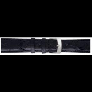 Morellato horlogeband Amadeus XL G.Croc Gl K0518052019CR22 / PMK019AMADEU22 Krokodillenleer Zwart 22mm + standaard stiksel