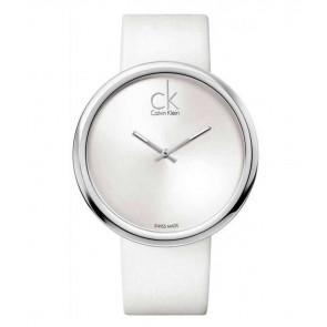 Pasek do zegarka Calvin Klein K0V23120 Skórzany Biały 22mm