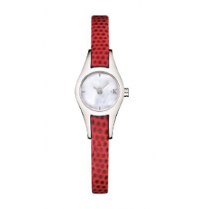 Pasek do zegarka Calvin Klein K2723100 Skórzany Czerwony