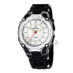 Pasek do zegarka Calypso K5560-1 Gumowy Czarny
