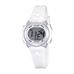Pasek do zegarka Calypso K5609-1 Gumowy Biały