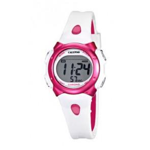 Pasek do zegarka Calypso K5609-3 Gumowy Biały