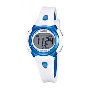 Pasek do zegarka Calypso K5609-4 Gumowy Biały