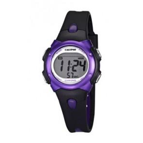 Pasek do zegarka Calypso K5609-5 Gumowy Czarny