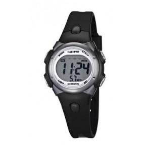 Pasek do zegarka Calypso K5609-6 Gumowy Czarny