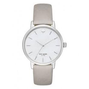 Kate Spade New York horlogeband KSW1141 / METRO Leder Grijs