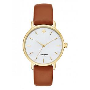 Kate Spade New York horlogeband KSW1142 / METRO Leder Bruin