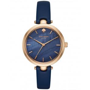Pasek do zegarka Kate Spade New York KSW1157 Skórzany Niebieski 6mm