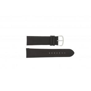 Pasek do zegarka WoW E.5316 Skórzany Ciemny brąz 22mm
