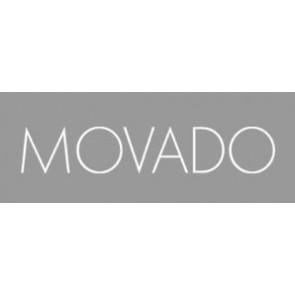 Pasek do zegarka Movado 84.G4.875.3801676 / CAL-18/14-WHI / Loc VIM-81 Skórzany Kremowy / beżowy / Ivory 15mm