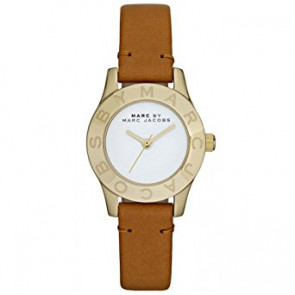 Pasek do zegarka Marc by Marc Jacobs MBM1219 Skórzany Brązowy