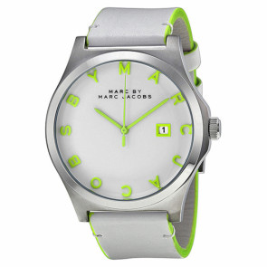 Pasek do zegarka Marc by Marc Jacobs MBM1247 Skórzany Biały
