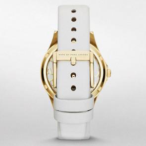 Marc by Marc Jacobs horlogeband MBM1339 Leder Wit 16mm