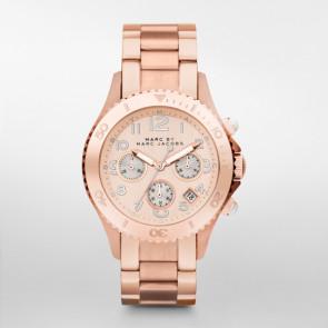 Pasek do zegarka Marc by Marc Jacobs MBM3156 Stal Róża