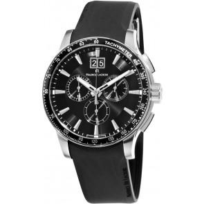 Pasek do zegarka Maurice Lacroix MI1098 / AQ60872 / ML640-000020 Krzem Czarny 18mm