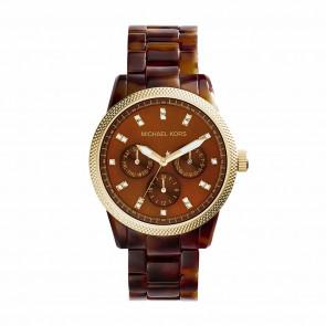 Pasek do zegarka Michael Kors MK5038 Plastikowy Brązowy