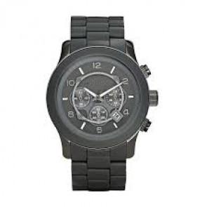 Pasek do zegarka Michael Kors MK8148 Stal/Krzem Szary antracyt 24mm
