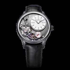 Pasek do zegarka Maurice Lacroix Gravity ML550-000256 Skóry krokodyla Czarny