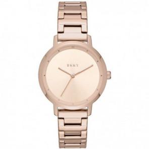 Horlogeband DKNY NY2637 Staal Rosé 14mm