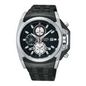 Pasek do zegarka Pulsar YM62-X204-PF3843X1 Stal Czarny