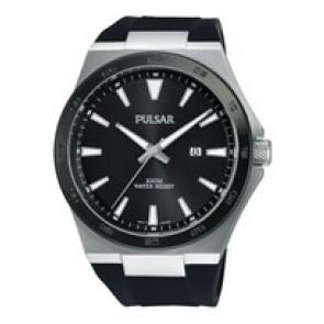 Pasek do zegarka Pulsar PH9081X1 / PC32 X087 / PHG048X Gumowy Czarny