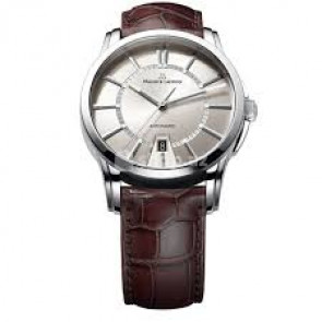Pasek do zegarka Maurice Lacroix PT6148-SS001-130 / ML550-005 Skóry krokodyla Brązowy 20mm