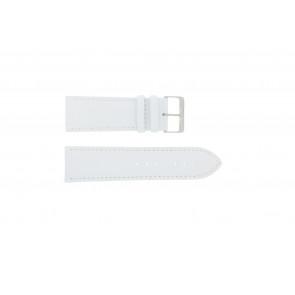 Prawdziwy Skóra Pasek Do Zegarka Biały 30mm