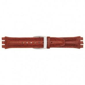 Pasek do zegarka Uniwersalny 247.07M Skórzany Czerwony 19mm