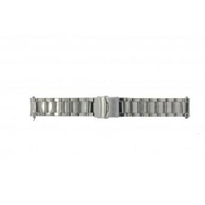 Pasek do zegarka Uniwersalny QQ22RHSHI Stal 22mm