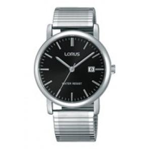 Lorus horlogeband RG857CX9 / VJ32 X246 / RHA042X Staal Zilver 19mm