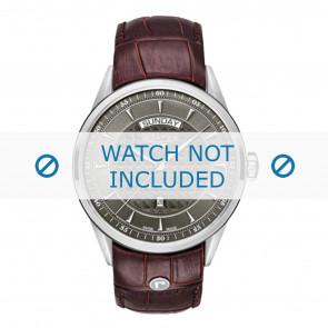 Roamer horlogeband 508293-41-05-05 Leder Bruin 22mm + standaard stiksel