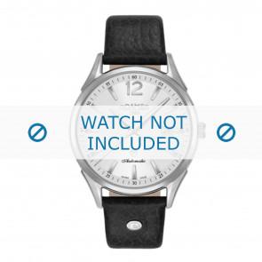 Roamer horlogeband 550660-41-25-05 Leder Zwart 18mm